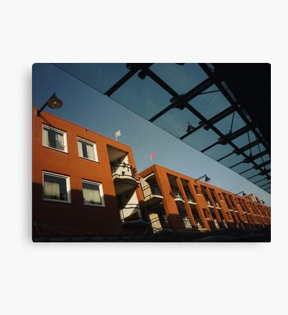Urban: Colours of the morning Canvas Print