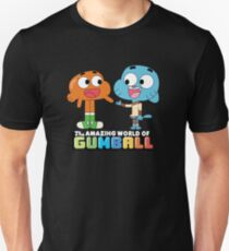 Gumball and Darwin Handshake Slim Fit T-Shirt
