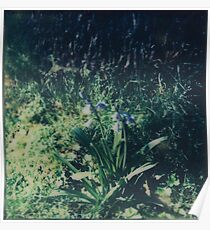 Gradually Blue Poster