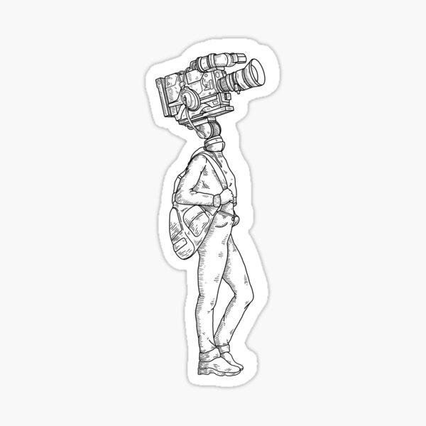 Cameradudette Sticker