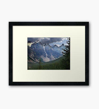 Valley of the Ten Peaks Framed Print
