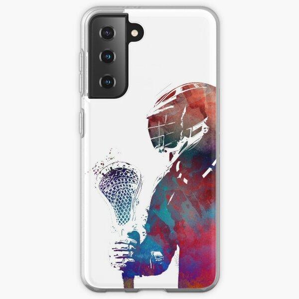 lacrosse sport art #lacrosse #sport Samsung Galaxy Soft Case
