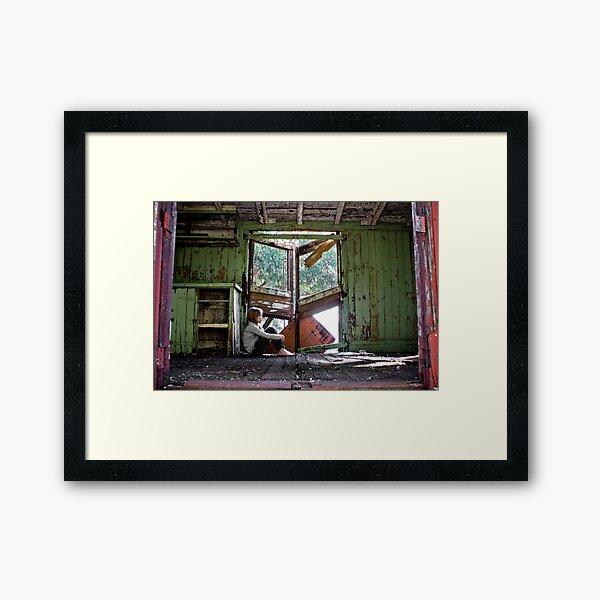 Runaway Train Framed Art Print