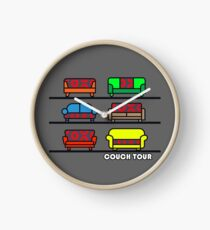 Couch Tour  Clock