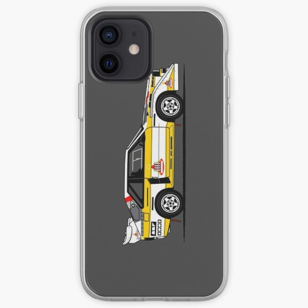 S1 Group B Classic Rally Car iPhone Soft Case