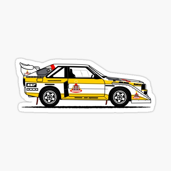 S1 Group B Classic Rally Car Sticker