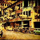 Chinatown- Singapore 1964 by pennyswork
