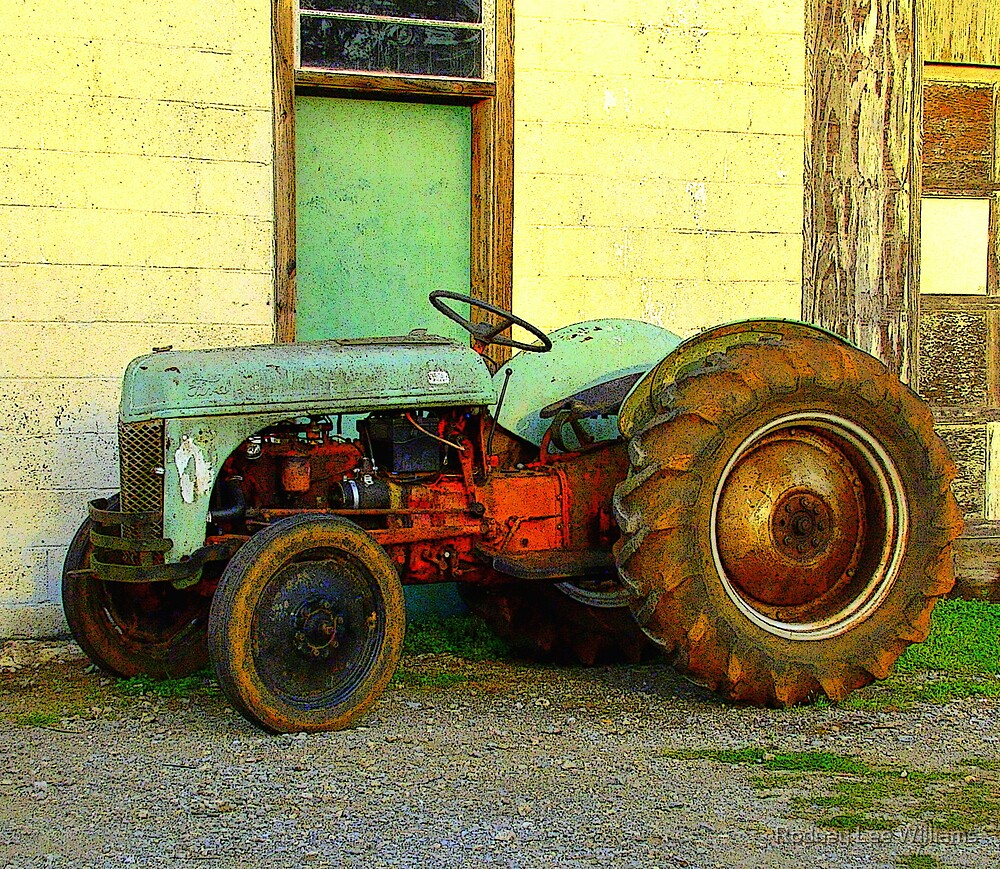 Ford Tractor by Rodney Lee Williams