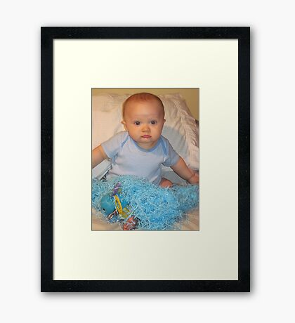 My First Easter Framed Print