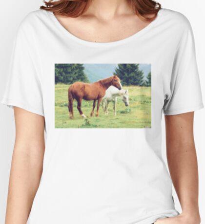 Romanian horses Women's Relaxed Fit T-Shirt