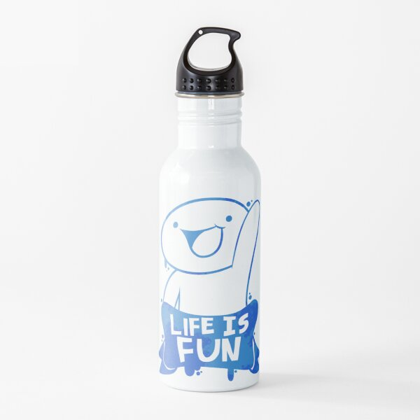 TheOdd1sOut Life is Fun Graffiti Water Bottle