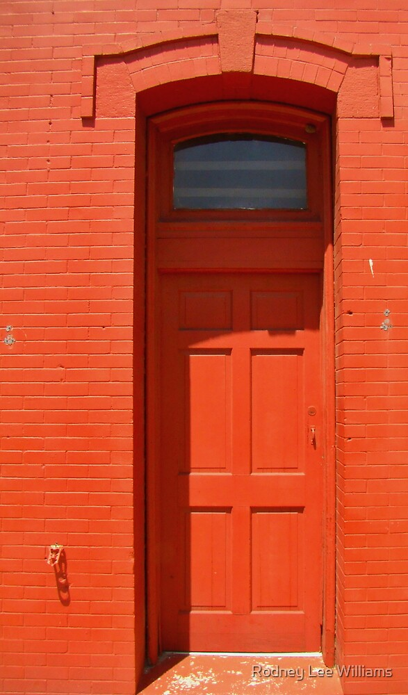Beyond The Red Door by Rodney Lee Williams