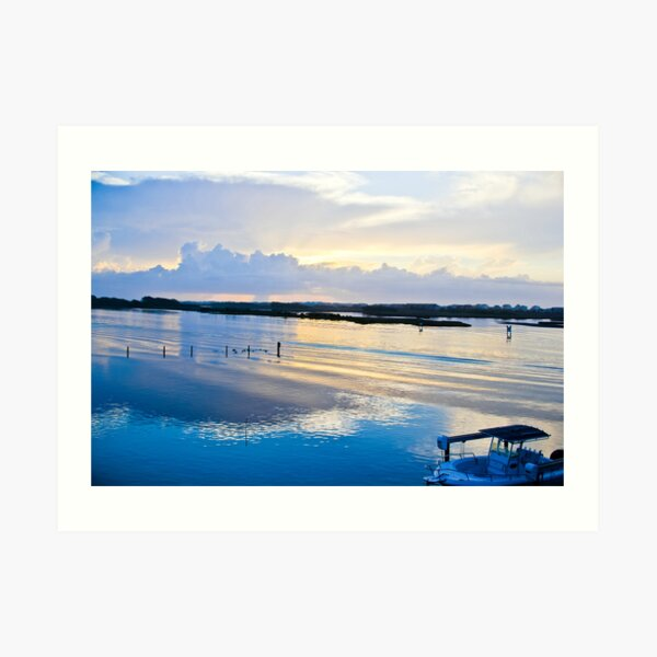 Another Topsail Sunrise Art Print
