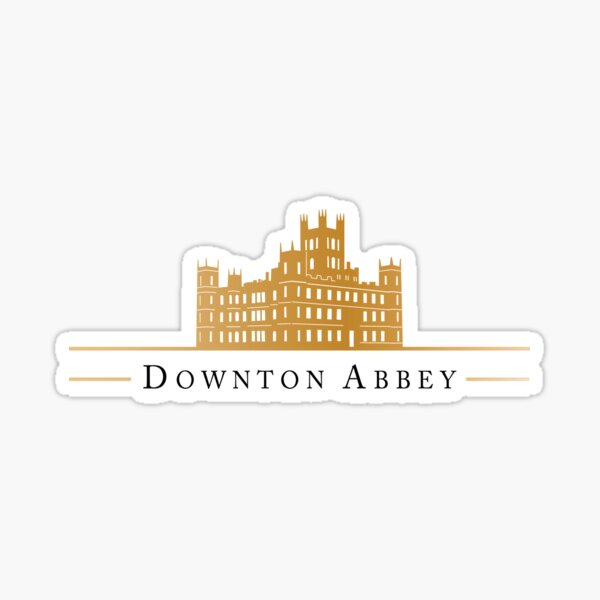 downton Sticker
