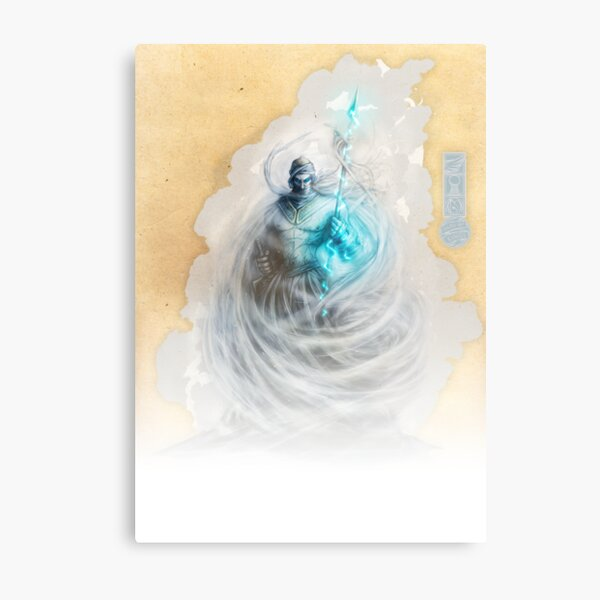 The White King-Rook's Pawn Metal Print
