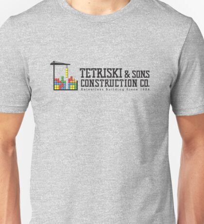 Tetriski & Sons Construction T-Shirt