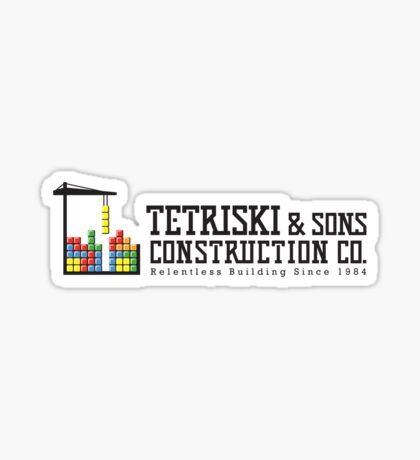 Tetriski & Sons Construction Sticker