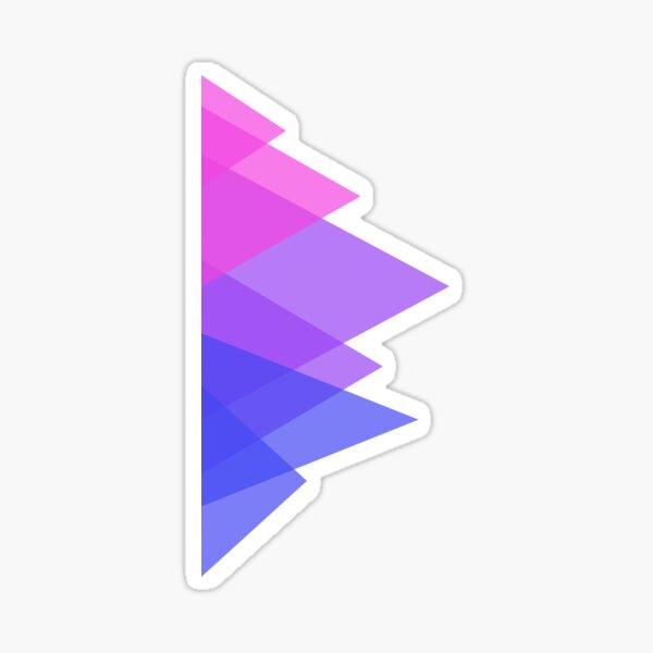 Triangles, Bi Sticker