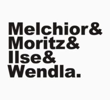 Spring Awakening: Melchior&Moritz&Ilse&Wendla