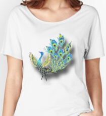 Painted Peacock Women's Relaxed Fit T-Shirt