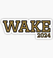 wake forest university 2024 Sticker