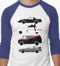 The Car's The Star Men's Baseball ¾ T-Shirt