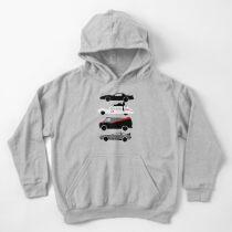 Sudadera con capucha para niños La estrella del automóvil