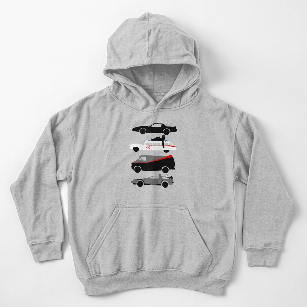 The Car's The Star Kids Pullover Hoodie