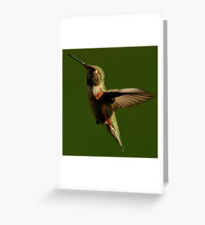 JUST FLOATING ON AIR Greeting Card