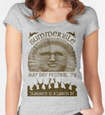 Summerisle May Day Festival 1973 Women's Fitted Scoop T-Shirt