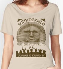 Summerisle May Day Festival 1973 Women's Relaxed Fit T-Shirt