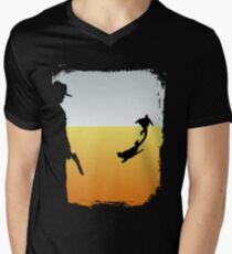 ...And the Gunslinger followed Men's V-Neck T-Shirt