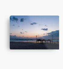 Sea shore Tel Aviv Metal Print