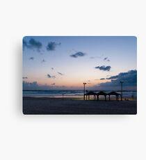 Sea shore Tel Aviv Canvas Print