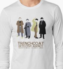 Trenchcoat Detective Agency Long Sleeve T-Shirt