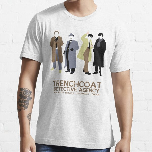Trenchcoat Detective Agency Essential T-Shirt