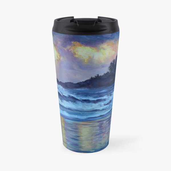 Chesterman Beach Sunset  Travel Mug