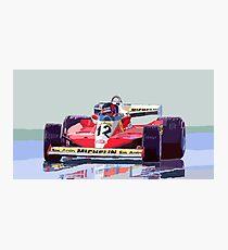 Ferrari 312 T3 1978 Canadian GP Photographic Print