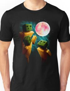 3 Sp00ns and a Moon Unisex T-Shirt