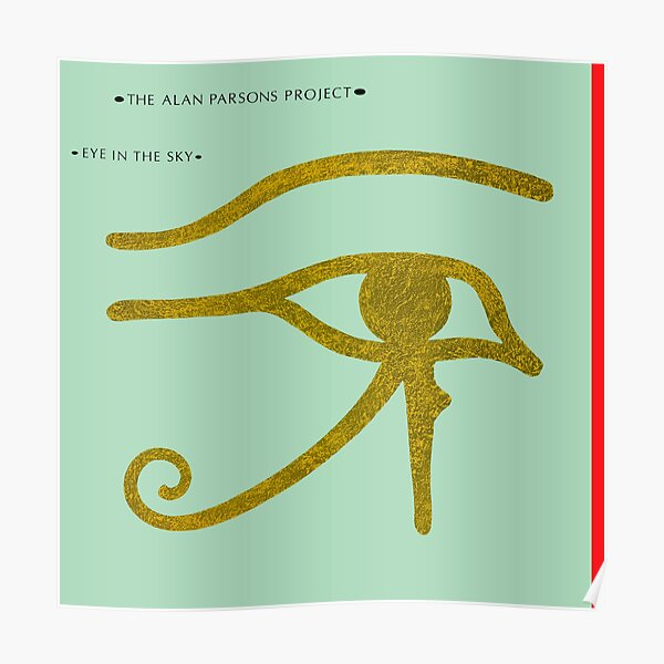 Alan Parsons Project Eye In The Sky Poster