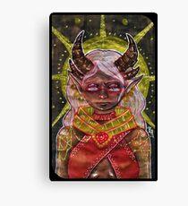 Tarot Card Canvas Print