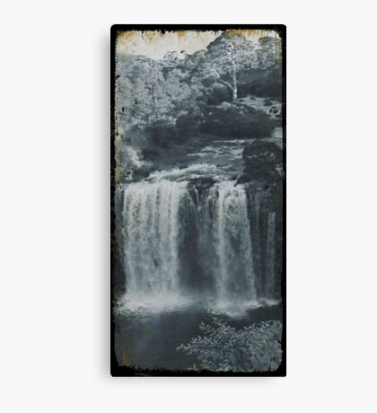 Vintage Dangar Falls, Dorrigo II Canvas Print