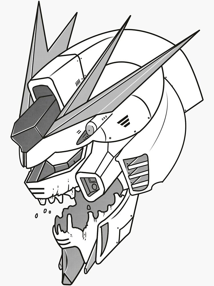 Gundam x Eva  by scotthigg