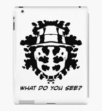 The Rorschach Test iPad Case/Skin