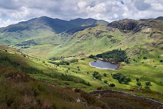 Little Langdale from Side Pike by Dave Lawrance