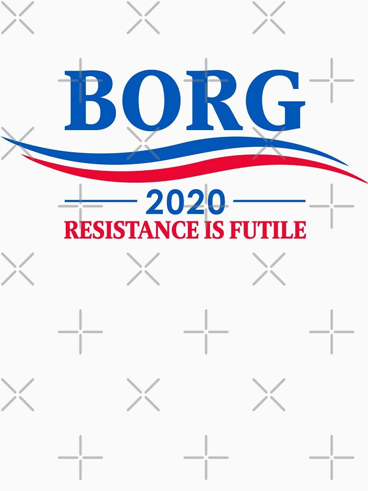 BORG 2020 - RESISTANCE IS FUTILE by boxsmash