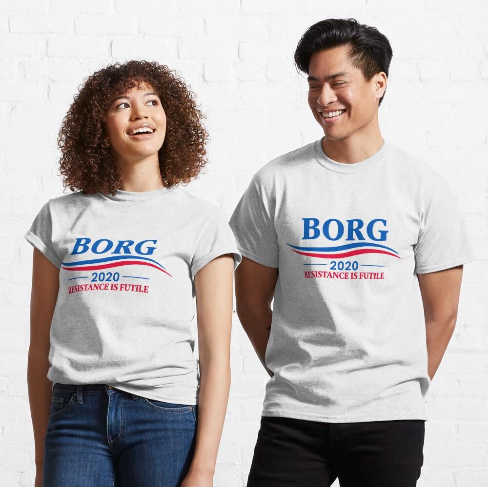 BORG 2020 - RESISTANCE IS FUTILE Classic T-Shirt