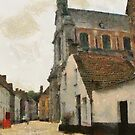 Beguinage Church - Lier - Belgium by Gilberte