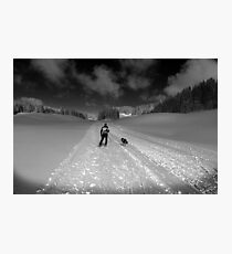 cross country Photographic Print