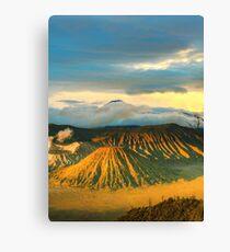 Bromo Tengger Semeru national park. Java. Indonesia Canvas Print